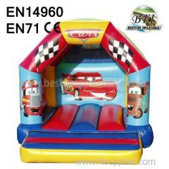 Inflatable Car Bouncer Castle Made in Guangzhou