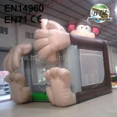 Monkey Frank Inflatable House