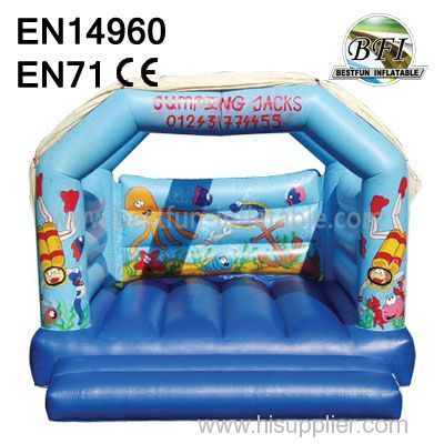 Simple Cheap Inflatables Bounce House for kids