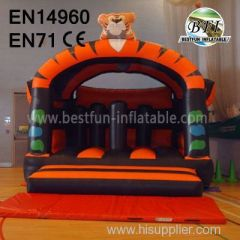 Popular Funny Inflatable Tiger Jumping house