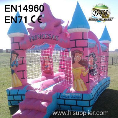 New Inflatable commercial princess bouncer china