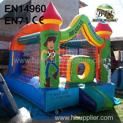 Cartoon PVC Inflatable Toy Story House Jumping