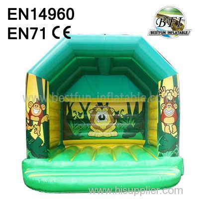 Small Jungle Inflatable Jumping House for sale