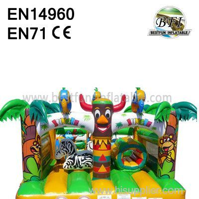 More Fun Indian Inflatable Bouncers jumping