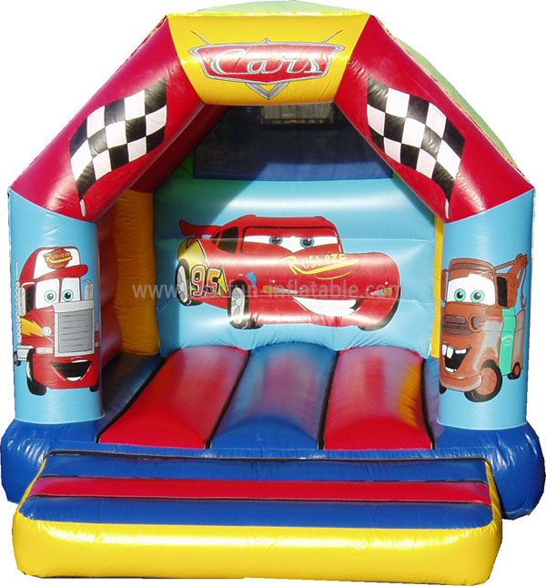 Inflatable Juming Bounce House with Cars