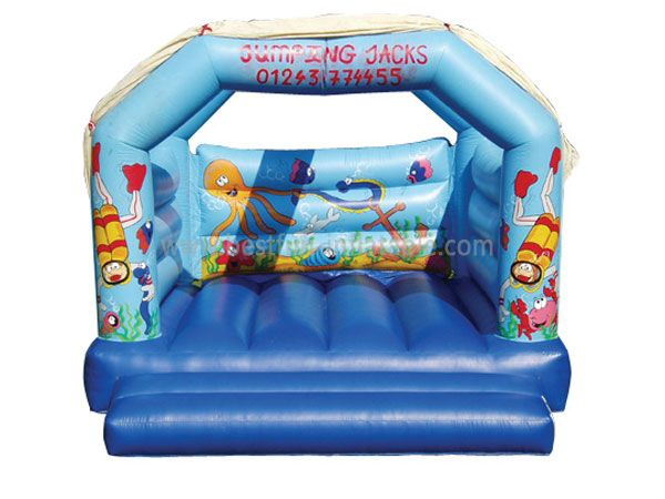 Under the Sea Inflatable Jumping House