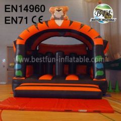 Popular Tiger Inflatable Jumping Castle for Kids