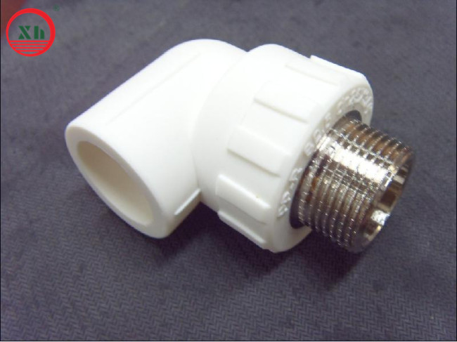 PPR fittings male 90D Elbow from China
