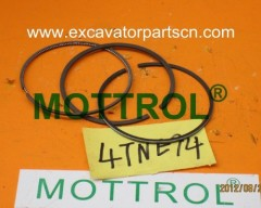 4TNE94 PISTON RING FOR EXCAVATOR