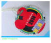 3D soft PVC mickey luggage tag