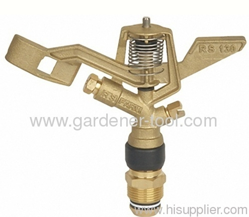 Zinc Yard Sprinkler Head With 3/4male thread tap for full irrigation