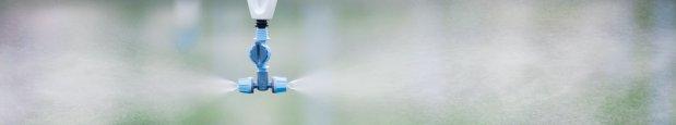 Plastic Cross-shaped Misting Sprinkler For Micro Irrigation