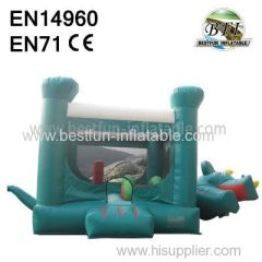 Inflatable Dinosaur Bouncy Castle for sale