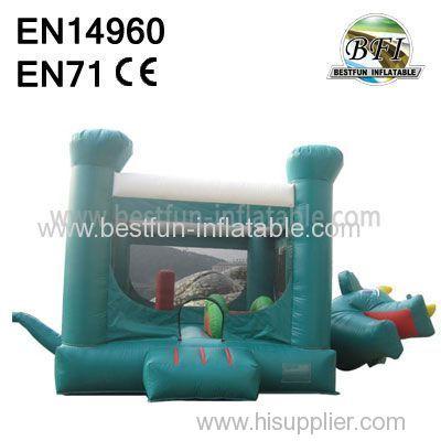 Inflatable Dinosaur Bouncy Castle for sale