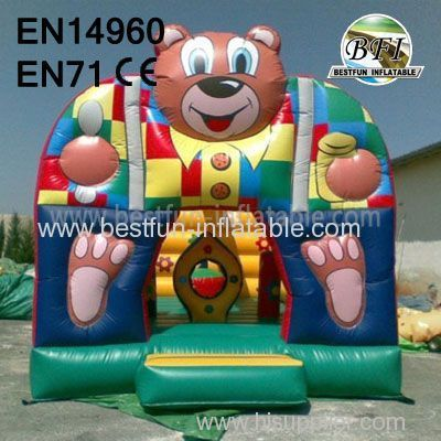 Inflatable Bear Bouncer for kids