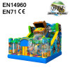 Treasure Inflatable Bouncer with Slide