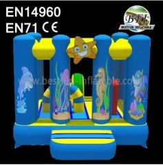 Under The Sea Inflatable Bouncer House