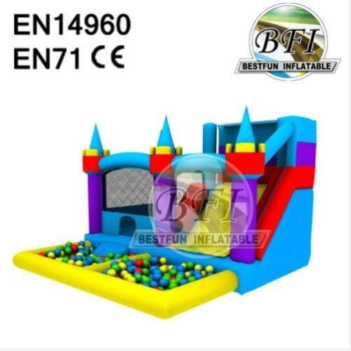 Inflatable Bouncer With Ball Pit