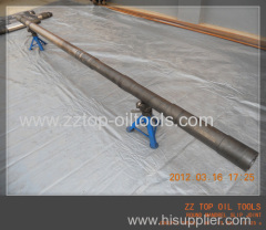 Drill stem testing round mandrel slip joint