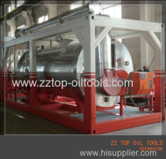 Three phase test separator