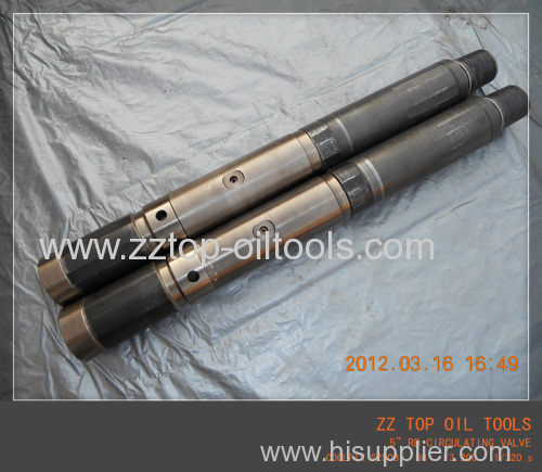 Oil well DST RD circulating valve drill stem testing
