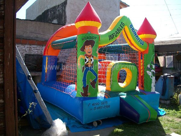 Happy Toy Story Inflatable Castle for Rent