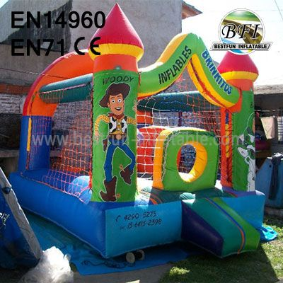 Happy Toy Story Inflatable Castle
