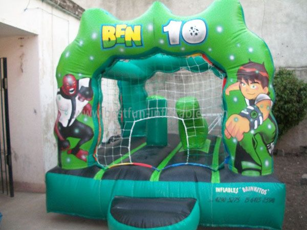 Interesting Ben 10m Inflatable Jumping Castle