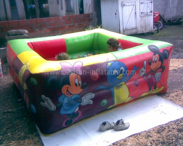 Inflatable Mickey Jumping Pool for Kids