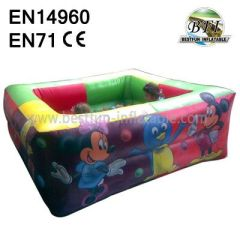 Inflatable Mickey Jumping Pool