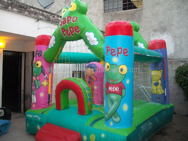 Happy Sapo Pepe Jumping Castle for Kids