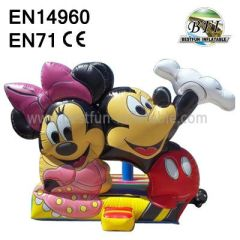 Mickey and Minnie Bounce House