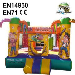 Pirate Jungle Jumping Bounce House