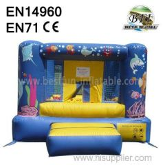 undersea world Inflatable Jumping Bouncer for sale
