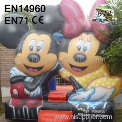 Big Fun Mickey And Minnie Mouse Bonce House for Children