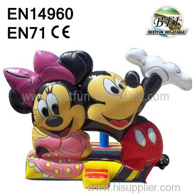New Inflatable Mickey And Minnie Bouncer