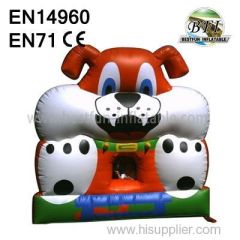 Backyard Inflatable Jumping Dog House