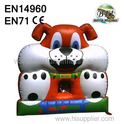 Backyard Inflatable Jumping Dog House