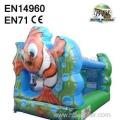 promotional Inflatable Fish Castles for kids