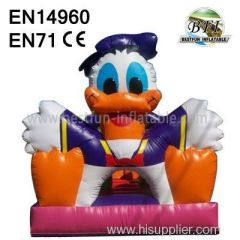 Backyard Inflatables Donald Duck House for sale