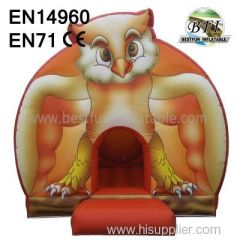 Fun Inflatable night Owl Castles Jumper