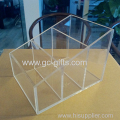 Transparent acrylic multi function display cabinet