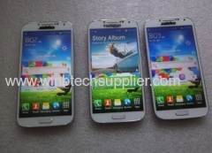 Newest i9500 galaxy S4 MTK6589 quad core mobile phone 512m ram showing 2g ram