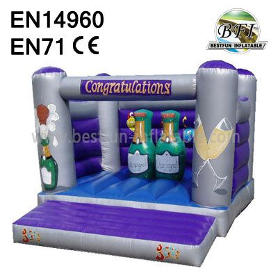 Happy Party Inflatable Child Bouncer