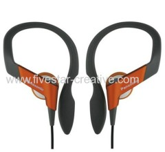 Panasonic RP-HS33 Orange Sports Earphone Over Ear Water Resistant Headphones