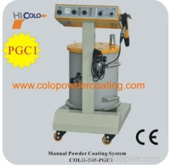 LPG hopper powder spray gun