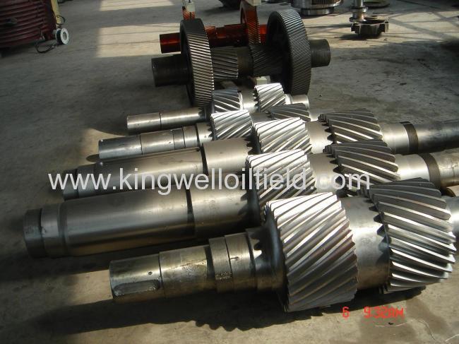 EMSCO F series mud pump crankshaft