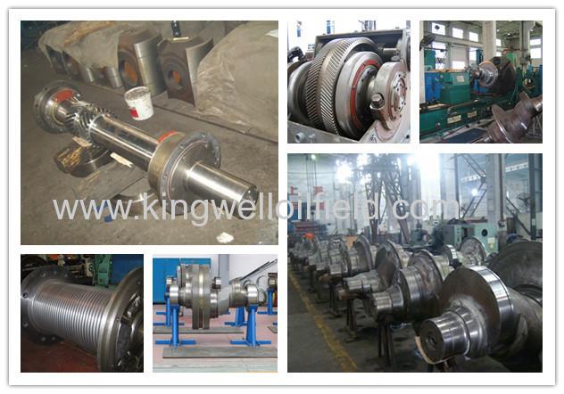 Stainless Steel Crankshaft For Drilling Mud Pump