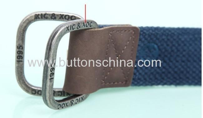 Printing woven belt
