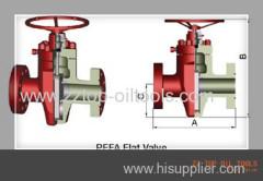 PFF flat valves and JFC flat valves